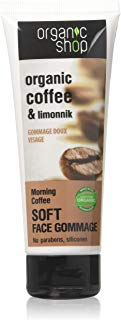 Organic Shop Gommage Viso Tonificante Coffee & Limonnik - 75 ml