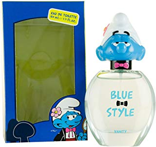 First American Brands, Blue Style Vanity, Eau de Toilette spray per bambini, 50 ml