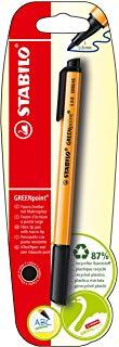STABILO GREENpoint Penna con punta in fibra colore Nero