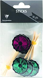 Clairefontaine Music Decorative Stick, confezione da 10 pezzi