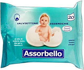 Silc 00471 Salviette Assorbello, 1 confezione con 20 salviette