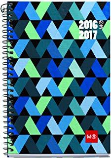 """Miquelrius 27089 Agenda scolastica, 117 x 174 mm, vista settimanale, tema""""origami"""" in catalano"""