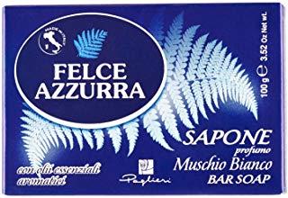 Felce Azzurra - Sapone fragranza di Muschio Bianco, 100 gr.