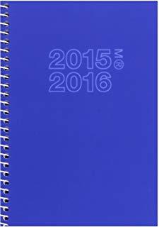 Miquel Rius 945870 - Agenda scolastica attiva 11.7x17.4 vista settimanale, blu