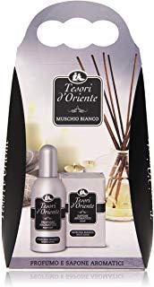 Tesori D'Oriente - Profume E Sapone Aromatici, Muschio Bianco - 1 Pack