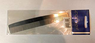 Profi Metallic-Line parrucchiere pettine, pettine 407 Dame, in metallo, 160 mm