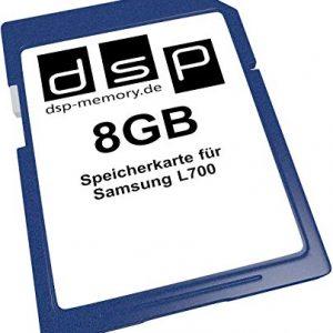 DSP Memory Z-Select 4051557405653 8 GB scheda di memoria per Samsung L700
