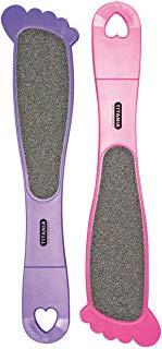 Titania Doppia file di piedi Forma del piede, Rosa-Lilla, colori assortiti, su Skin Slot 1 della pagina di acqua Fester vetrata