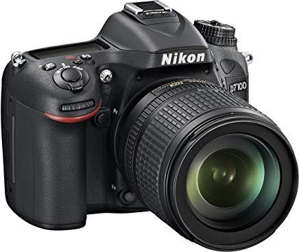 Nikon D7100 + Nikkor 18-105VR Fotocamera Reflex Digitale, 24.1 Megapixel, LCD da 3 Pollici, ISO 6400, SD 8GB Premium Lexar 180X,