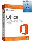 Microsoft Office 2016 Professional Plus 32 - 64 Bit Licenza ESD ** Originale **: Amazon.it: Software