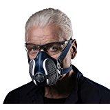 Elipse SPR501 Maschera per Polveri P3 con Filtri Sostituibili, M-L: Amazon.it: Commercio, Industria e Scienza