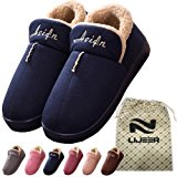Interni Casa pantofole di cotone invernale accogliente Memory Foam Warm antiscivolo resistente all'usura lana trascinamento Lije