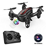 DROCON Drone Mini Pocket GD60 Telecamera di telecomando dell'elicottero HD Anti-vibrazione 720P Fashion Headless FLIPS E RUOLI 3