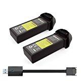 Potensic U31 U34 U36 T25 Batterie-2pcs: Amazon.it: Giochi e giocattoli