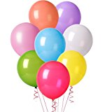 Aookey 100 Pz Palloncini Colorati per Party, Compleanni, Matrimoni, Decorazione - 30 cm Palloncini in Lattice: Amazon.it: Giochi