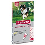 advantix spot 10-25 kg 4 pipette: Amazon.it: Prodotti per animali domestici