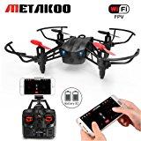 (2-Batteria) Drone con Telecamera, Metakoo M5 Droni Professionali per Principianti Quadricottero FPV 2.4GHz 4CH Con Funzione Ste