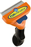 FURminator per Cani a Pelo Corto Medium - 186 gr: Amazon.it: Prodotti per animali domestici