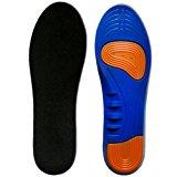 Kalak: sottopiedi e inserti per scarpe sportive realizzati con cuscino traspirante con piccoli fori e assorbimento degli urti: A