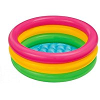 Intex 57412 - Piscina 3 Anelli, 114 x 25 cm: Amazon.it: Giochi e giocattoli