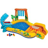 Intex 57444 - Playground Dinosauri, 249 x 191 x 109 cm: Amazon.it: Giochi e giocattoli