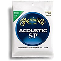 Martin SP bronze 80-20 extra light 10-47: Amazon.it: Strumenti musicali e DJ