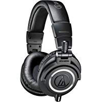 Audio Technica Pro ATH-M50X Cuffie Monitor Professionali, Nero: Amazon.it: Strumenti musicali e DJ