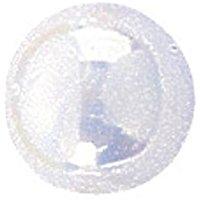 KnorrPrandell G&uuml,termann 6096840 - Perle finte, 8mm, confezione da 25, colore: Bianco