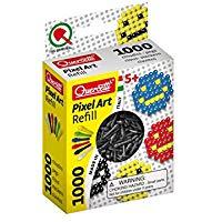 Quercetti 02478 - Gioco Refill Pixel Art, Nero