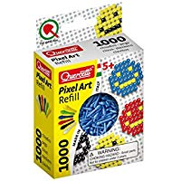 Quercetti 02477 - Gioco Refill Pixel Art, Blu