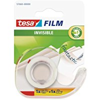 Tesa 57660-00000-01 Tesafilm Invisible e Dispenser Usa-Getta
