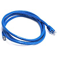 Monoprice 5 m UTP CAT6 24 AWG Ethernet, Cavo Patch, Colore: Blu