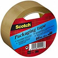Scotch 94804 Nastro per Imballo, 38mm x 66m, colore Marrone Avana, 1 rotolo