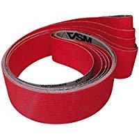 VSM 0007686310120 - Nastro abrasivo in ceramica, corindone di zirconio, 16 x 520 mm, K120,