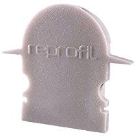 Reprofil 979571 27 mm pezzi r-et-02 - 12 tappi, grigio
