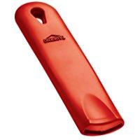 Paderno 11710-AA Manico in Silicone e Acciaio Inox, Rosso