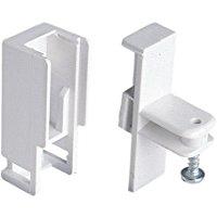 Riel Chyc 5431644 Supporto Laterale per Binario Alluminio P-900: Bianco