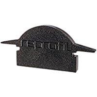 Reprofil 980042 25 mm pezzi l-et-01 - 10 tappi, nero