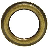 Riel Chyc 5437202 - occhiello, ferro, 40mm, vecchio bronzo