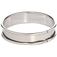 Lacor 68120 - Cerchio per Torta in Acciaio Inox, 2,2 cm