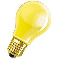 Osram Lampada ad Incandescenza, E27, 11 watts, Giallo