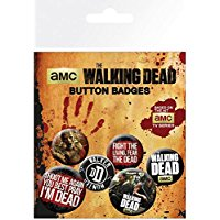 The Walking Dead GB Eye Ltd, Frases, Set di Spille, Standard