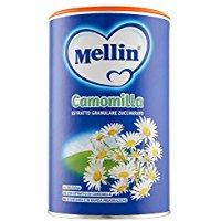 Mellin Camomilla Estratto Granulare Zuccherato in Barattolo - Confezione da 350 gr
