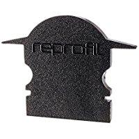 Reprofil 980062 pezzi 25 mm l-et-02 - 10 tappi, nero