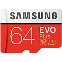 Samsung MB-MC64GA-AMZ - EVO Plus Micro SDXC da 64 GB fino a 100 MB - s, scheda di memoria U3 classe 10 (incluso adattatore SD) [