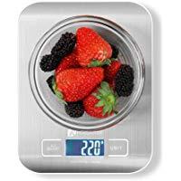 Bilancia da Cucina Digitale Houzetek Alta Precisione Misurazione 1g a 5kg Bilancia Digitale LCD Display Multifunzionale Bilancia