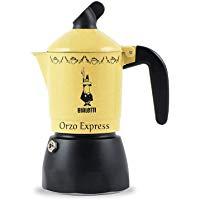 Bialetti 0002328-MR Moka Orzo Express, Caffettiera 2 Tazze, Alluminio: Amazon.it: Casa e cucina