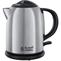 Russell Hobbs Adventure 20195-70 Bollitore, Ebollizione in 55 sec., Indicatore del Livello dell'acqua, Filtro rimovibile, 2200 W