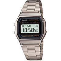 Casio Vintage A158WA-1CR - Orologio da Polso Digitale, Argento: Casio: Amazon.it: Orologi