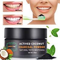 Polvere Denti,Carbone Attivo Denti,Carbone Denti,Teeth Whitening,Sbiancamento Denti Carbone Attivo Naturale,di polvere di carbon